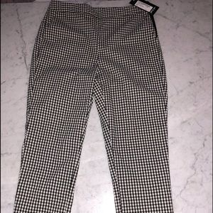 Nastygal gingham pants NEW with tags!
